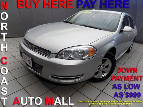 2012 Chevrolet Impala LS Retail As low as $999 DOWN in Cleveland, Ohio