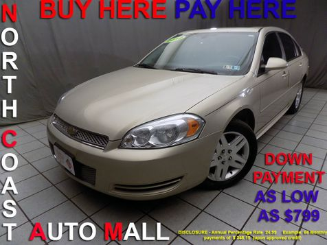2012 Chevrolet Impala LT Fleet As low as $799 DOWN in Cleveland, Ohio