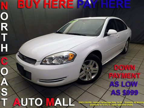 2012 Chevrolet Impala LT Fleet As low as $999 DOWN in Cleveland, Ohio