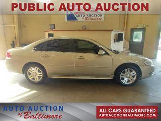 2012 Chevrolet Impala LT Fleet   JOPPA, MD   Auto Auction of Baltimore  in Joppa MD