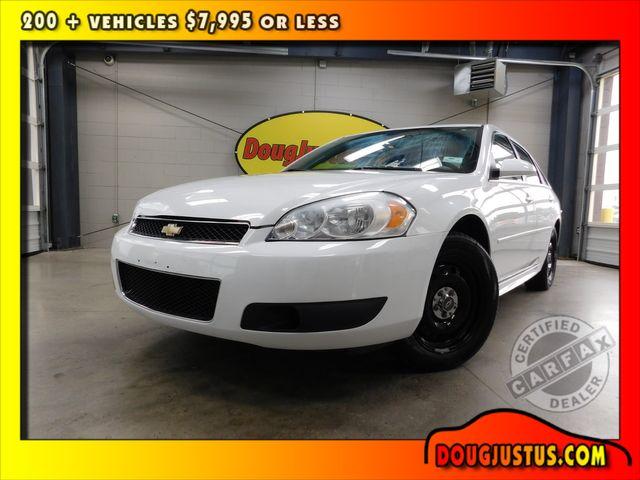 2012 Chevrolet Impala Police POLICE