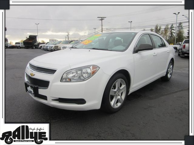 2012 Chevrolet Malibu LS 4Dr in Burlington WA, 98233