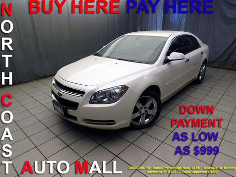 2012 Chevrolet Malibu LT w/1LTAs low as $999 DOWN in Cleveland, Ohio