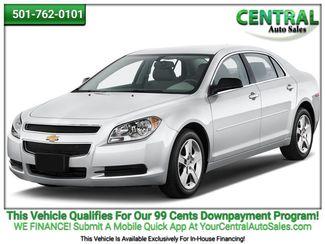 2012 Chevrolet Malibu LT w/1LT | Hot Springs, AR | Central Auto Sales in Hot Springs AR