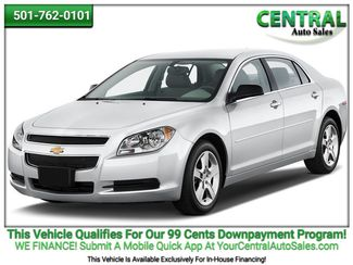 2012 Chevrolet Malibu LT w/1LT | Hot Springs, AR | Central Auto Sales in Hot Springs AR