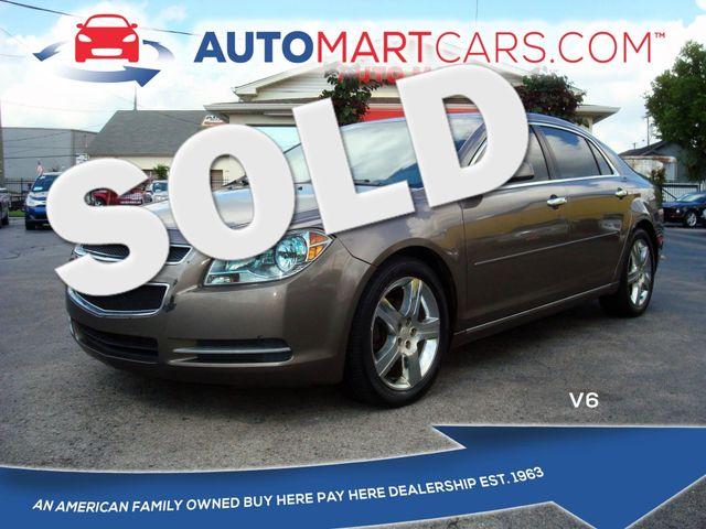2012 Chevrolet Malibu LT w/3LT   Nashville, Tennessee   Auto Mart Used Cars Inc. in Nashville Tennessee