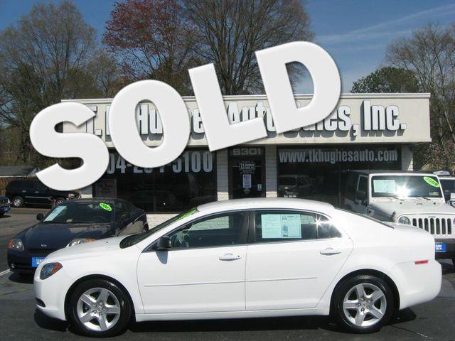 2012 Chevrolet Malibu LS Richmond, Virginia 0