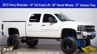 "2012 Chevrolet Silverado 1500 LT 3rd Coast 14"" Lift, 37 inch Tires, 20 Inch Wheels in Dallas, TX 75001"