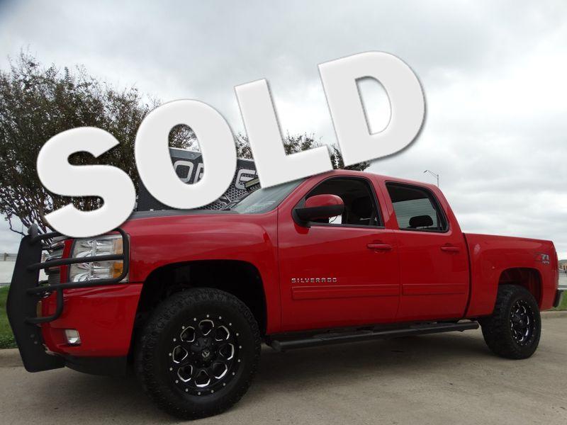 2012 Chevrolet Silverado 1500 LT Z71 4x4, Step Rails, Towing, Black Alloys 79k! | Dallas, Texas | Corvette Warehouse