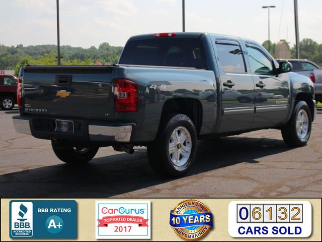 2012 Chevrolet Silverado 1500 LT Crew Cab 4x4- ALL STAR EDITION- PERAGON TONNEAU Mooresville , NC 2