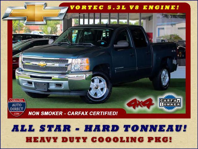 2012 Chevrolet Silverado 1500 LT Crew Cab 4x4- ALL STAR EDITION- PERAGON TONNEAU Mooresville , NC 0