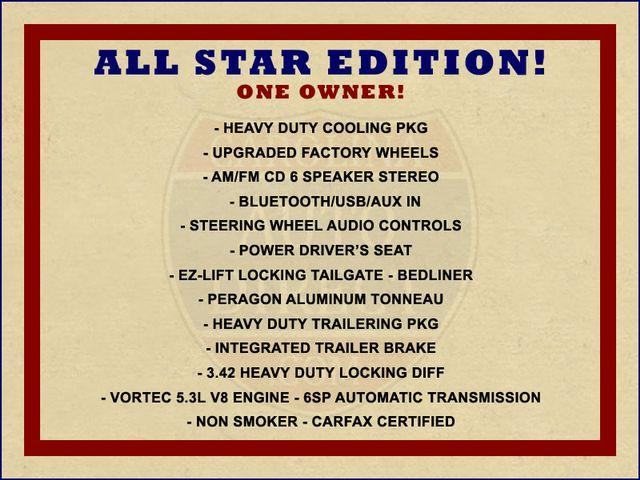2012 Chevrolet Silverado 1500 LT Crew Cab 4x4- ALL STAR EDITION- PERAGON TONNEAU Mooresville , NC 1
