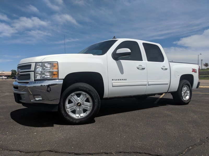 2012 Chevrolet Silverado 1500 Crew Cab 4X4 Z71 LTZ  Fultons Used Cars Inc  in , Colorado