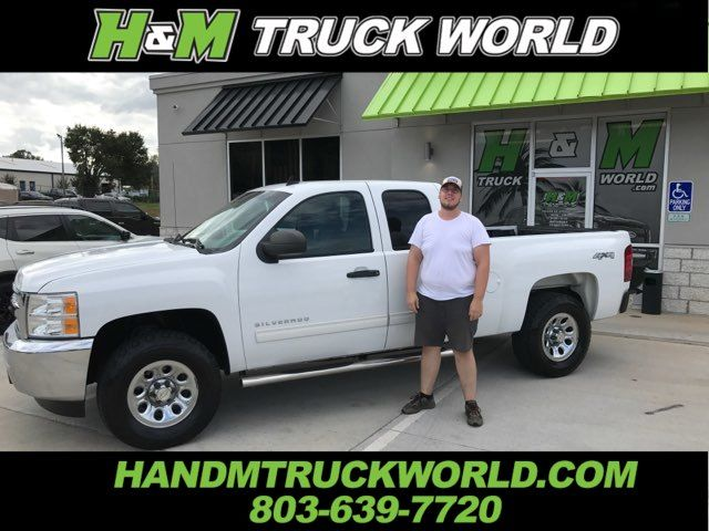 "2012 Chevrolet Silverado 1500 LS 4X4 ""LOW MILES"" in Rock Hill SC, 29730"
