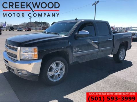 2012 Chevrolet Silverado 1500 LT 4x4 Crew Cab Black Chrome 20s 1 Owner Leather in Searcy, AR