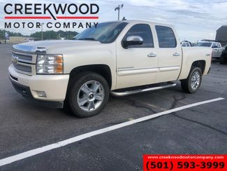 2012 Chevrolet Silverado 1500 LTZ 4x4 Pearl White Leather Htd Chrome 20s CLEAN in Searcy, AR 72143