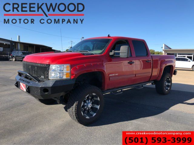 2012 Chevrolet Silverado 2500HD LT 4x4 Diesel Red Lifted 20s Leather NewTires NICE