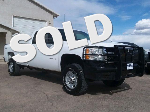 2012 Chevrolet Silverado 2500HD Work Truck Pueblo West, CO