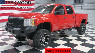 2012 Chevrolet Silverado 2500HD LT 4x4 Diesel Red Lifted 20s Leather NewTires NICE in Searcy, AR 72143