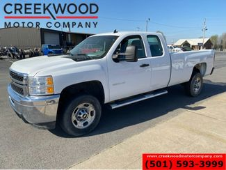 2012 Chevrolet Silverado 2500HD Work Truck LS 2WD 6.0L Gas White 1 Owner Low Miles in Searcy, AR 72143
