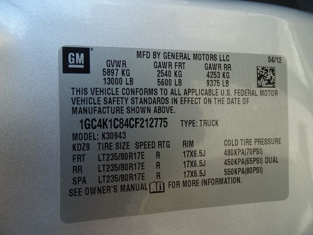 2012 Chevrolet Silverado 3500HD LTZ Corpus Christi, Texas 52