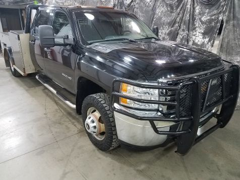 2012 Chevrolet Silverado 3500HD Crew 4x4 Gas  5th Wheel Tool Body in Dickinson, ND