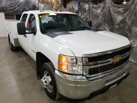 2012 Chevrolet Silverado 3500HD Service Body 4x4 Duramax in Dickinson, ND