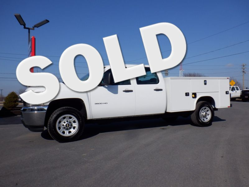 2012 Chevrolet Silverado 3500HD Crew Cab 4x4 with New 8' Knapheide Utility Bed in Ephrata PA