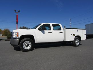 2012 Chevrolet Silverado 3500HD Crew Cab 4x4 with New 8' Knapheide Utility Bed in Lancaster, PA, PA 17522