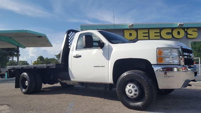 2012 Chevrolet Silverado 3500HD Duramax Diesel 4x4 Flatbed in Fort Pierce FL, 34982