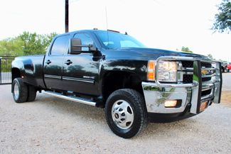 2012 Chevrolet Silverado 3500HD LTZ Crew Cab 4x4 6.6L Duramax Diesel Allison Auto Dually in Sealy, Texas 77474