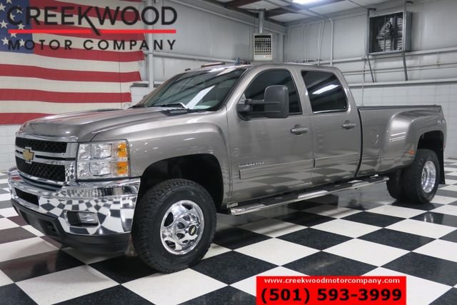 2012 Chevrolet Silverado 3500HD LTZ 4x4 Diesel Dually Low Miles Leather Htd Chrome
