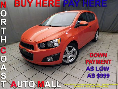 2012 Chevrolet Sonic LTZAs low as $999 DOWN in Cleveland, Ohio