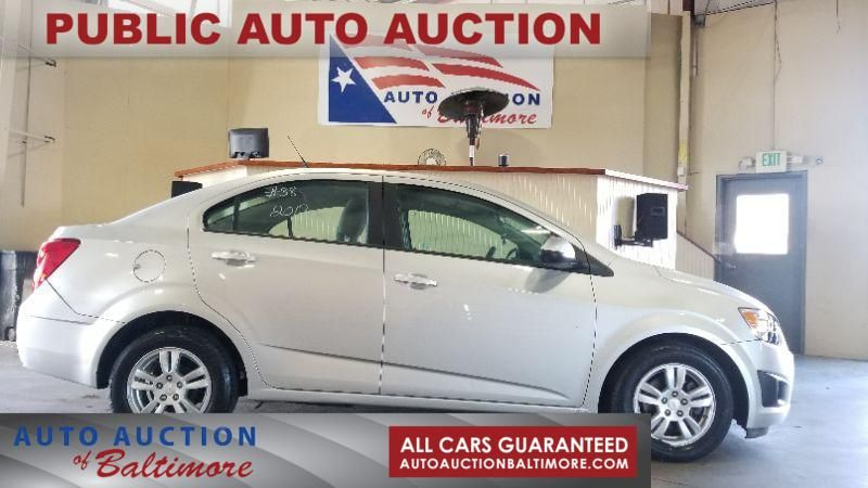 2012 Chevrolet Sonic LS | JOPPA, MD | Auto Auction of Baltimore  in JOPPA MD