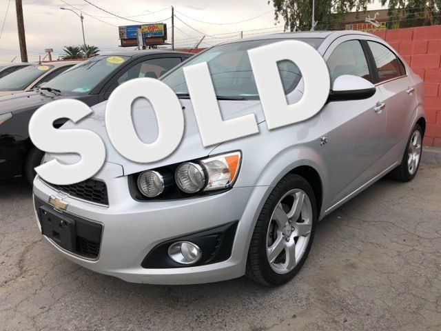 2012 Chevrolet Sonic LTZ CAR PROS AUTO CENTER (702) 405-9905 Las Vegas, Nevada