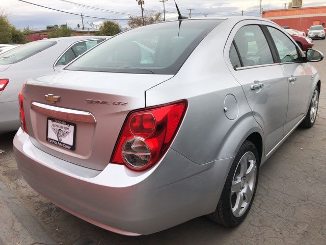 2012 Chevrolet Sonic LTZ CAR PROS AUTO CENTER (702) 405-9905 Las Vegas, Nevada 2