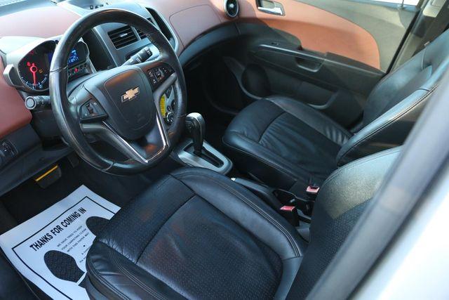 2012 Chevrolet Sonic LTZ Santa Clarita, CA 8