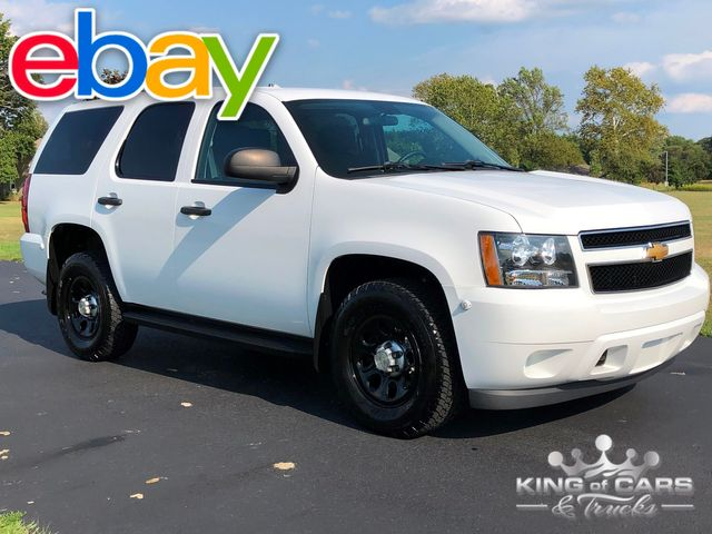 2012 Chevrolet Tahoe 4x4 PPV POLICE PACKAGE 1-OWNER ONLY 56K MILE
