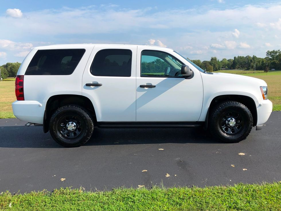 2012 Chevrolet Tahoe 4x4 PPV POLICE PACKAGE 1-OWNER ONLY 56K