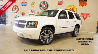 2012 Chevrolet Tahoe LTZ 4X4 ROOF,NAV,REAR DVD,HTD/COOL LTH,22'S,79K in Carrollton, TX 75006