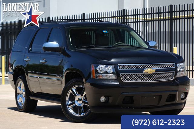2012 Chevrolet Tahoe LTZ Heated and Cooled Seats DVD
