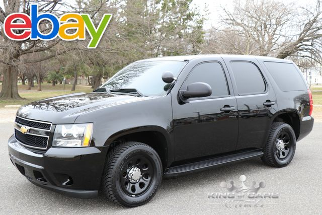 2012 Chevrolet Tahoe Ppv 5.3l V8 89K MILES 2-OWNER MINT RARE FIND