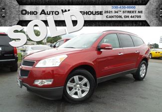 2012 Chevrolet Traverse LT AWD Sunroof 3rd Row Clean Carfax We Finance | Canton, Ohio | Ohio Auto Warehouse LLC in  Ohio