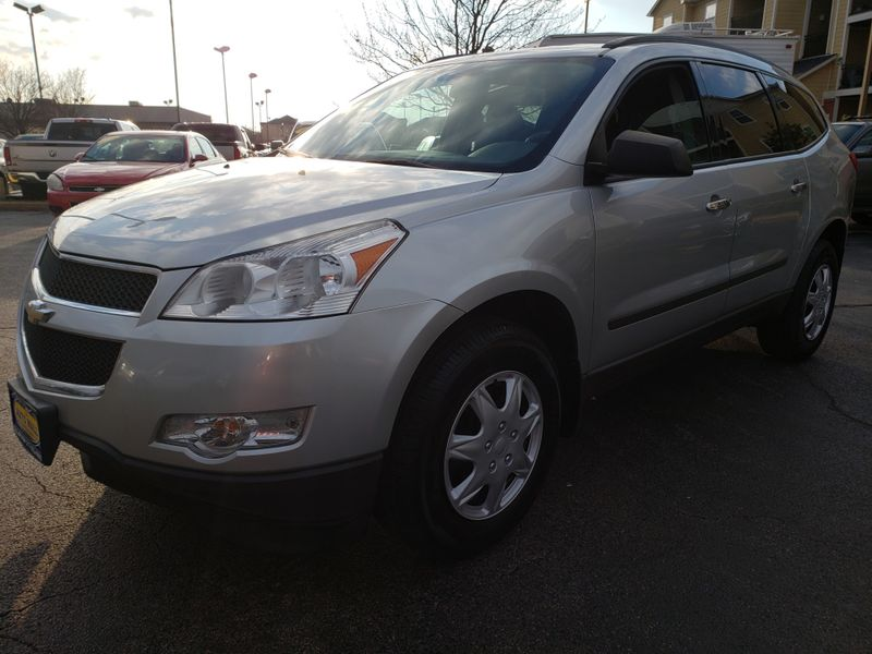 2012 Chevrolet Traverse LS | Champaign, Illinois | The Auto Mall of Champaign in Champaign Illinois