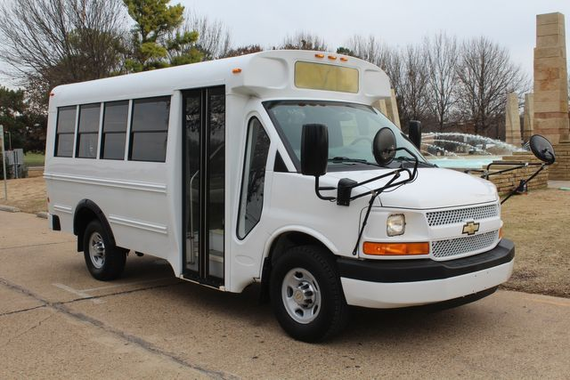 2012 Chevy Express School Bus Daycare Childcare Bus Irving, Texas 1