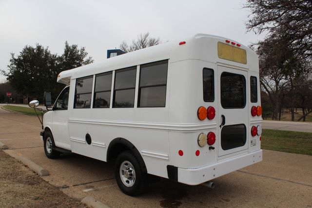 2012 Chevy Kindercare Daycare kindergarten Childcare School Mini Bus Shutle Van Irving, Texas 11
