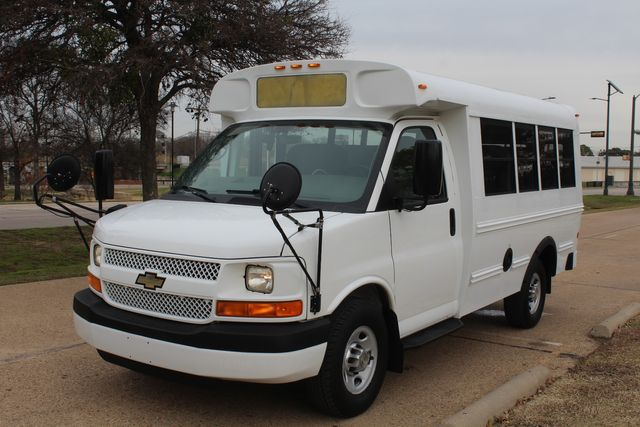 2012 Chevy Express School Bus Daycare Childcare Bus Irving, Texas 7