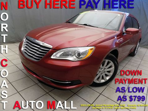 2012 Chrysler 200 Touring As low as $799 DOWN in Cleveland, Ohio