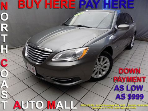 2012 Chrysler 200 Touring As low as $999 DOWN in Cleveland, Ohio