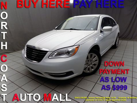 2012 Chrysler 200 LX As low as $999 DOWN in Cleveland, Ohio